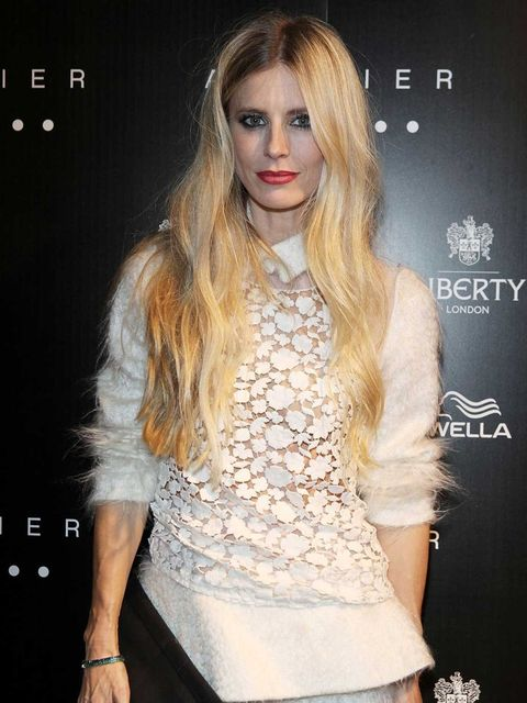 <p>Laura Bailey at the Josh Wood Atelier launch in Liberty</p>