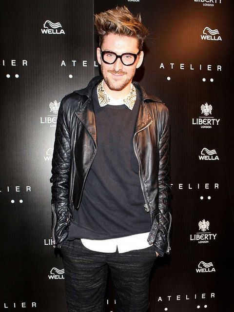 <p>Henry Holland at the Josh Wood Atelier launch, Liberty </p>