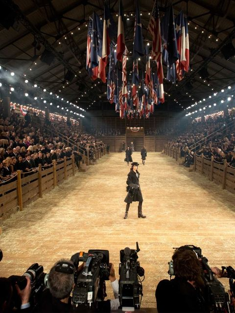 <p>The catwalk for the Chanel <em>Metiers d'Art</em> show, December 2013.</p>