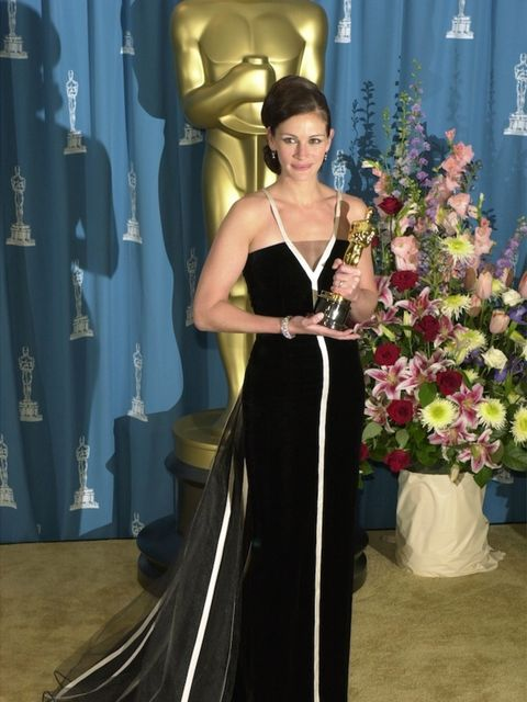 <p>Julia Roberts at the 2001 Oscars</p>