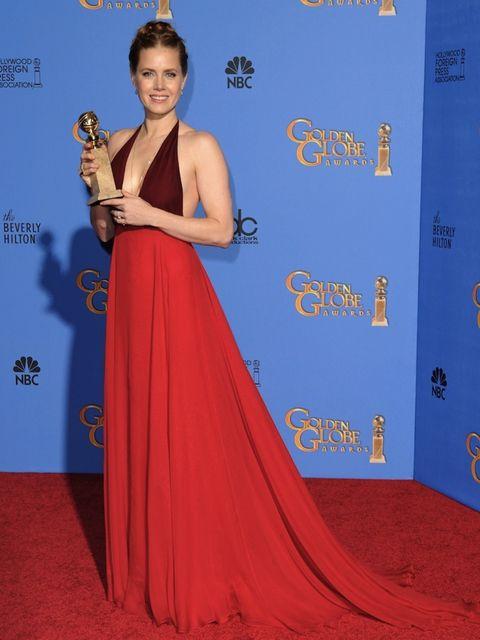 <p>Amy Adams at the 2014 Golden Globes</p>