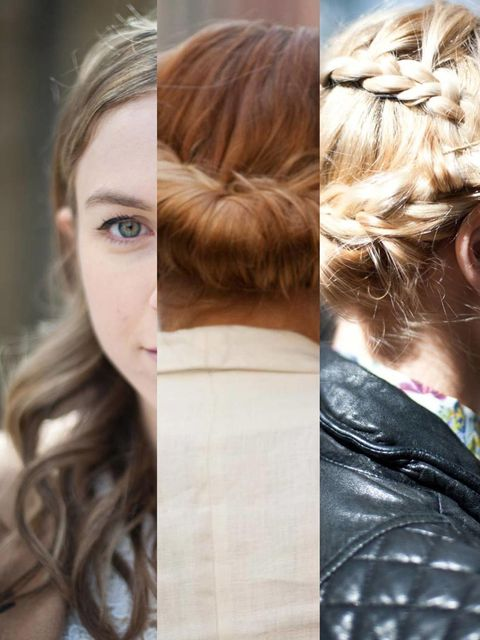 <p>If you've picked up a copy of the May issue of ELLE you'll know we've been putting the spring beauty trends to the test. Trying a new hairstyle can be a daunting prospect, so we've given a few more spring looks a road test