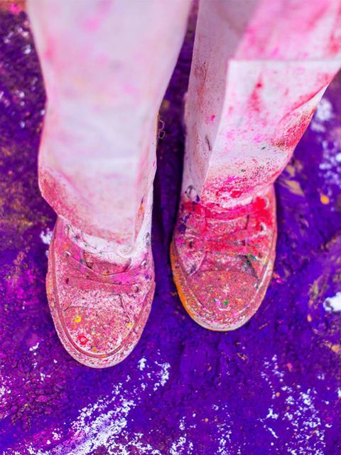 <p>EVENT: House of Holi at Cinnamon Kitchen</p>  <p>Ready to paint the town red? And blue? And yellow? And… You get the idea. This Friday sees the return of Cinnamon Kitchen's pop-up party pod in celebration of the Indian festival of Holi. You know, the o