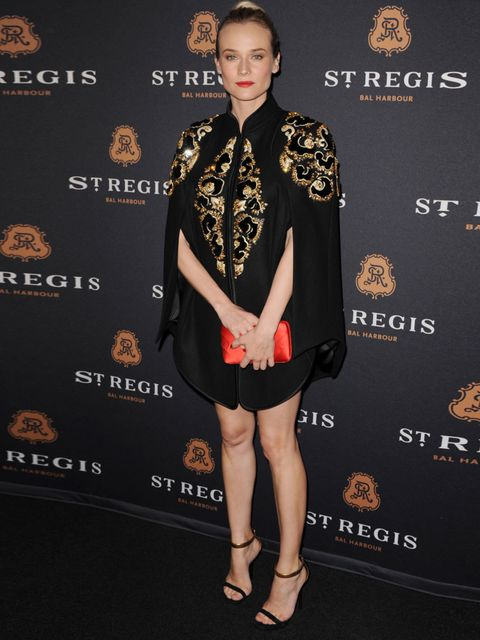 "<p><a href=""http://www.elleuk.com/star-style/celebrity-style-files/diane-kruger"">Diane Krrger</a> styling her <a href=""http://www.elleuk.com/catwalk/designer-a-z/jason-wu/autumn-winter-2012"">Jason Wu</a> ensemble with metallic ankle-strap sandals, March 2"