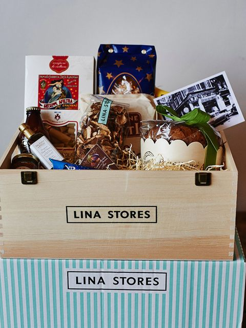 "<p><strong>The Italian Job - <a href=""http://linastores.co.uk"" target=""_blank"">Lina Stores</a>, Medio, £65</strong></p>