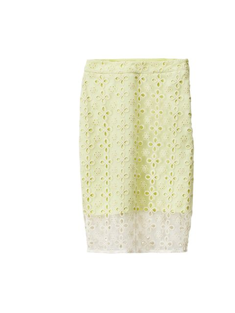 <p>This season's girliness is easy to love, especially when it's done so well on the high street. This innocent H&M skirt is a sweet treat... H&M pastel skirt, £29.99, for stockists call 0844 736 9000</p>