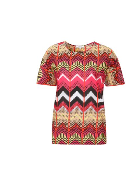 "<p>Set the bar high for a bright, pattern-heavy season with this fabulously bold T-shirt... Carven Ikat T-shirt, £125, at Liberty</p><p><a href=""http://shopping.elleuk.com/browse?fts=carven+ikat+t-shirt"">BUY NOW</a></p>"