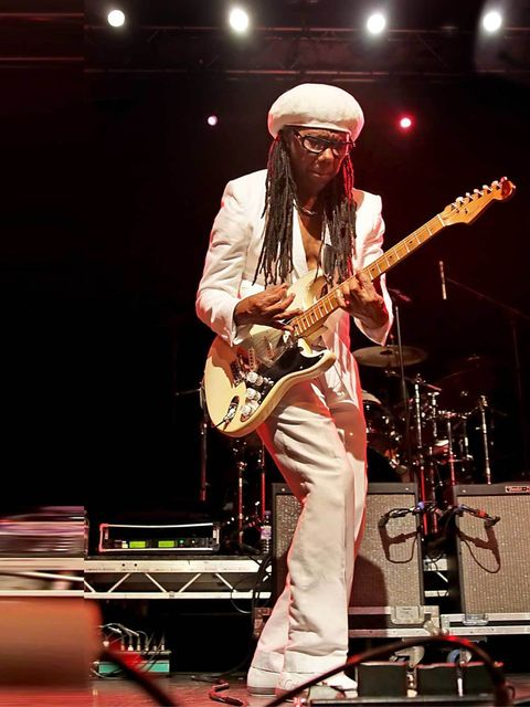 <p><strong> </strong>Who wouldn't want to spend their Friday night dancing like a 70s disco god to Chic's Le Freak? Head down to The Forum this weekend as the man himself, Nile Rodgers, throws a huge London club night. Let Mr Rodgers take you on a 'sensat