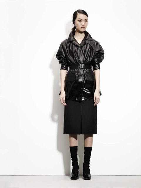 <p>Bottega Veneta pre-fall 2012, Look 11</p>