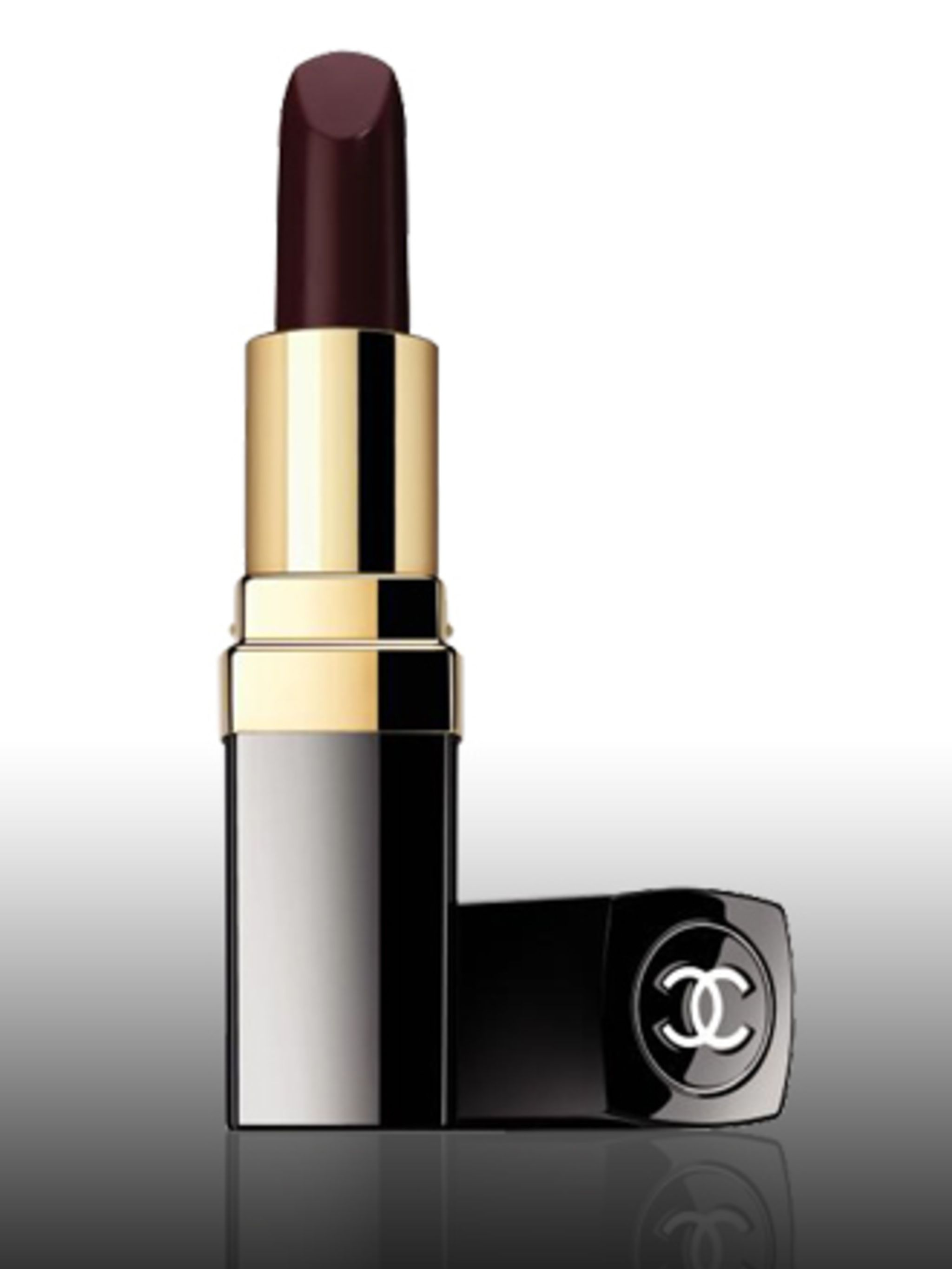 "<p>Rouge Hydrabase in Fantastic Plum, £17.50 by <a href=""http://www.chanel.com/fb/um.php?lo=gb&la=en-gb&re=chanelcom%20"">Chanel</a>. For stockists call 020 7493 3836.</p><p>Dark, vampy, almost blood stained lips will be a signature look for winter"