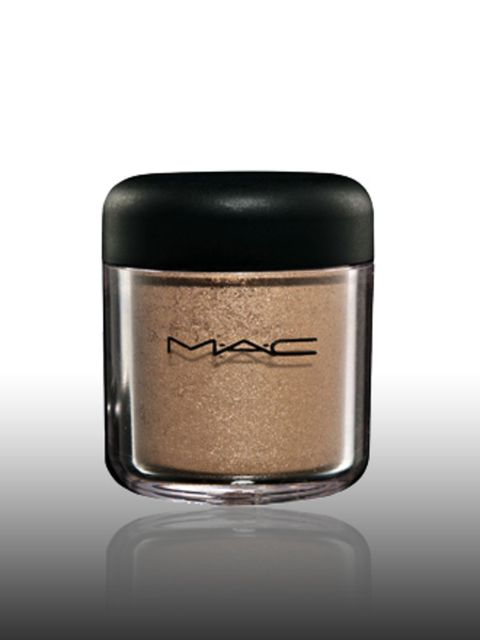"""<p>Pigment in Over Rich, £15 by <a href=""""http://www.maccosmetics.co.uk/"""">Mac</a> </p><p>Bronze, copper and gold are the look du jour for eyes this season. This is a good way to update your smoky eye look.</p>"""