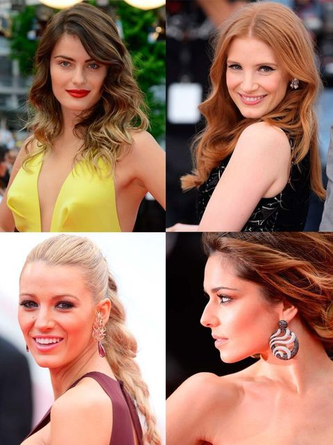 <p>While they're at Cannes watching the films (for 'watching' read 'sneaking out immediately to attend a yacht party'), we're watching their Cannes beauty choices make their way down the red carpet. This is our Beauty Directors edit of the best. Julianne