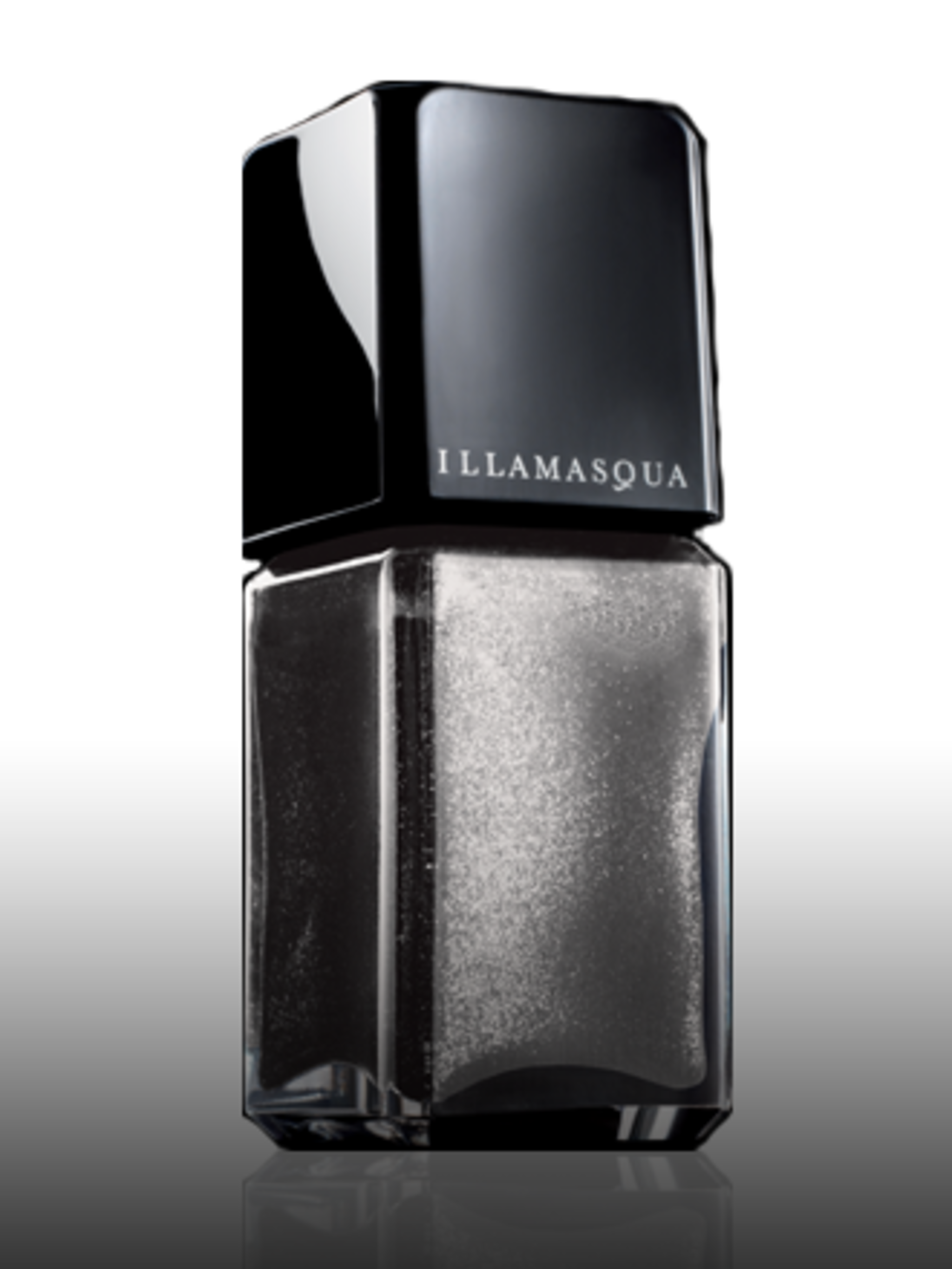 """<p>Nail Polish in Harsh, £11 by <a href=""""http://www.illamasqua.com/"""">Illamasqua</a></p><p>We can't get enough of berry nail shades, but for party, ramp up your nails with this silver glitter polish. You need three layers to create an deep, high-shine colo"""
