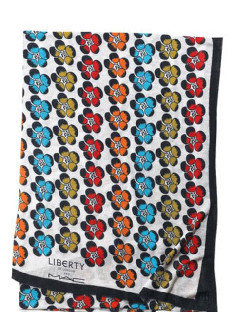<p>Scarf, £82 by MAC</p>
