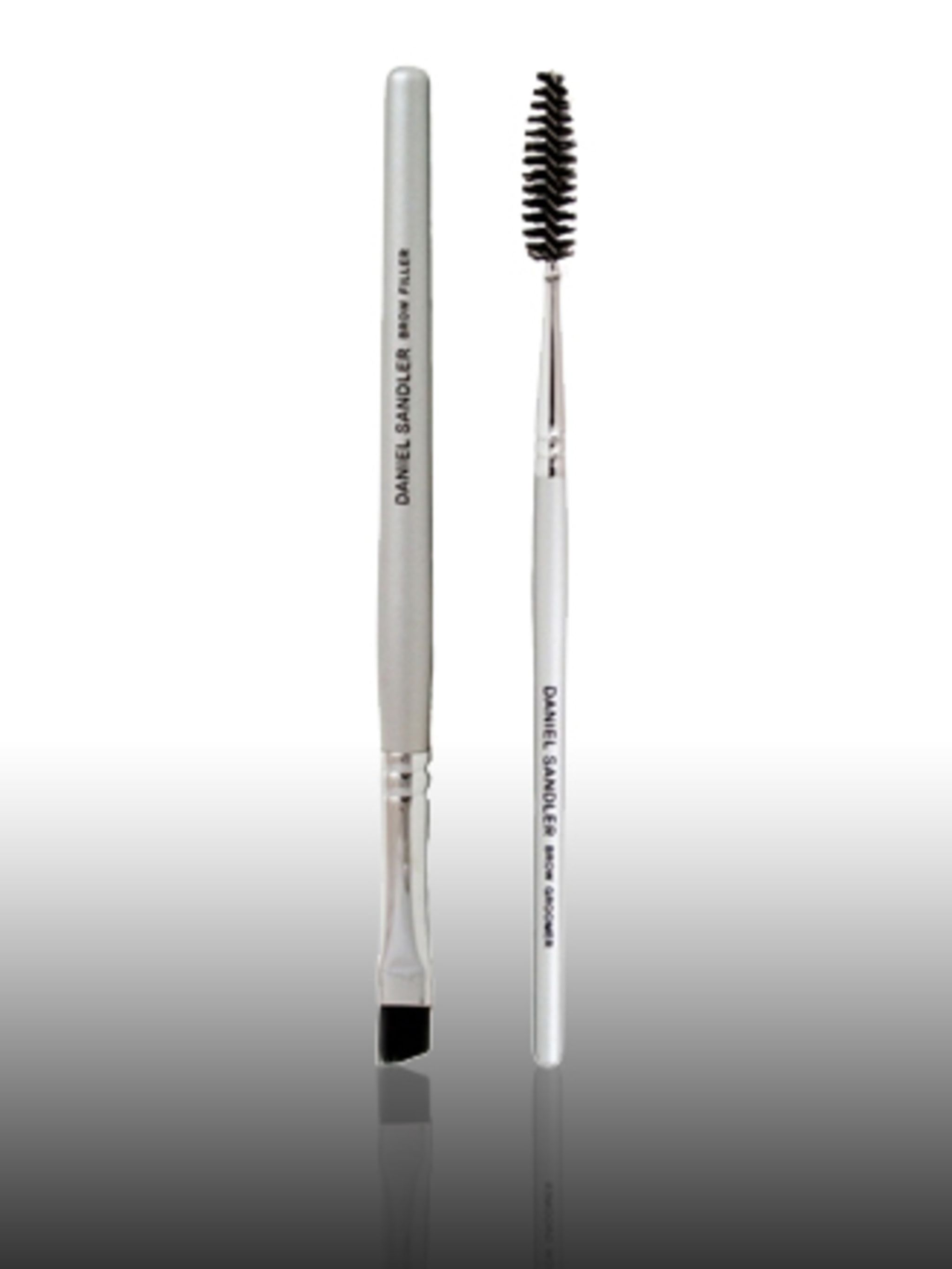 "<p>Brow Filler Brush, £10 by Daniel Sandler at <a href=""http://www.beautique.com/product/Daniel_Sandler/NEW_Daniel_Sandler_Brow_Filler_Brush_%28Handbag_Sized%29.aspx"">Beautique</a> </p><p>Celebrity make-up artist, Daniel Sandler says: 'Fill in your brows"