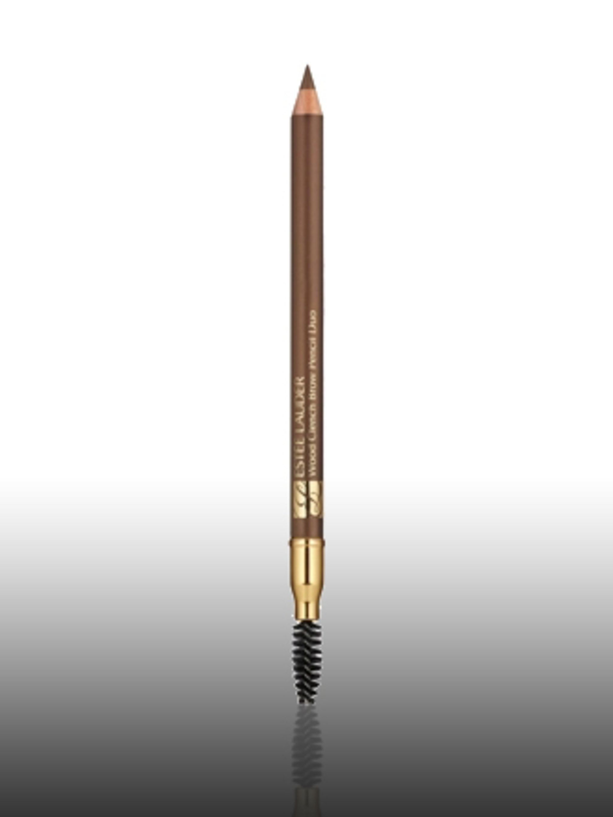 "<p>Brow Shaping Pencil, £12.50 by <a href=""http://www.esteelauder.co.uk/templates/products/sp_shaded.tmpl?CATEGORY_ID=CAT1023&PRODUCT_ID=PROD89441"">Estee Lauder</a> </p>"