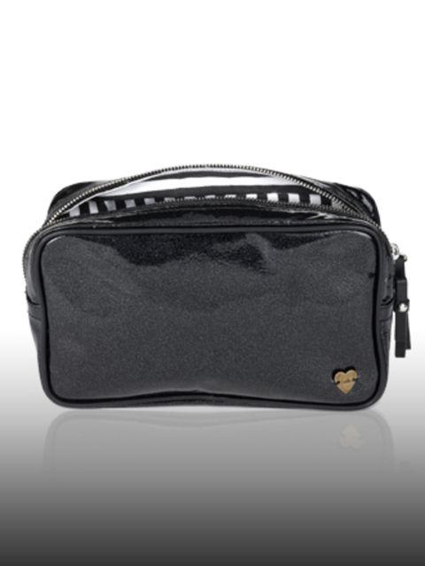 "<p>Make-up Bag, £99 by <a href=""http://www.luella.com/"">Luella</a> </p>"