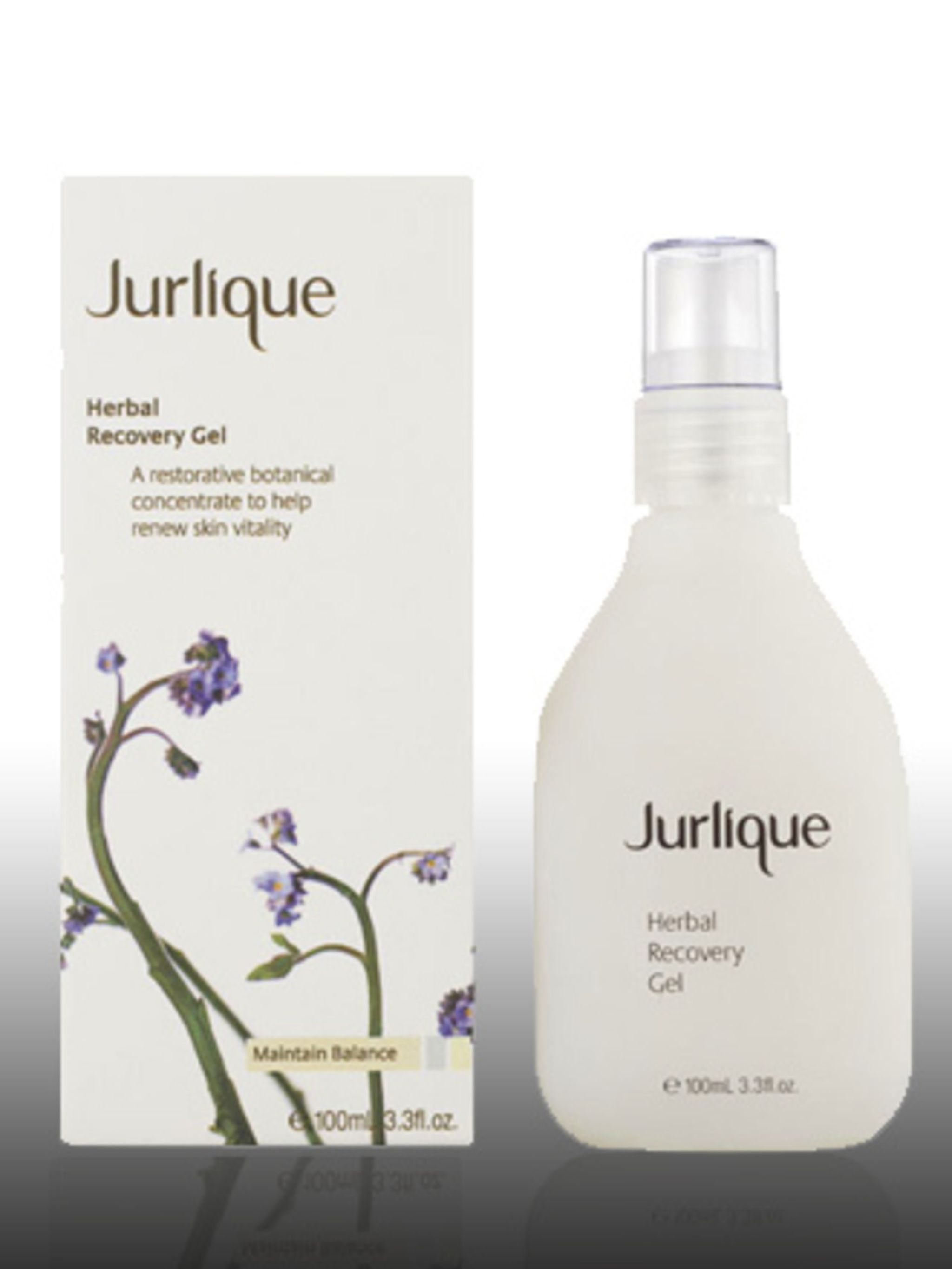 """<p>Herbal Recovery Gel, £45 by Jurlique at <a href=""""http://www.hqhair.com/code/products.asp?PageID=1495&SectionID=2142&FeaturedID=20157&FeaturedProduct=13563&pID=1"""">HQhair</a> </p><p>Jurlique farm their own ingredients in a sustainable way"""