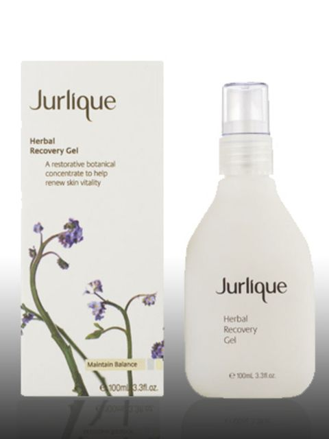 """<p>Herbal Recovery Gel, £45 by Jurlique at <a href=""""http://www.hqhair.com/code/products.asp?PageID=1495&amp;SectionID=2142&amp;FeaturedID=20157&amp;FeaturedProduct=13563&amp;pID=1"""">HQhair</a> </p><p>Jurlique farm their own ingredients in a sustainable way"""