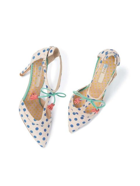 """<p>Brilliantly bonkers, and a must-have for Associate Health & Beauty Editor Amy Lawrenson.</p><p><a href=""""http://www.boden.co.uk/en-GB/NewAndNow/Womens-Shoes-Boots/Heels/AR657/Womens-Alice-High-Heel.html"""" target=""""_blank"""">Boden</a> shoes, £119</p>"""