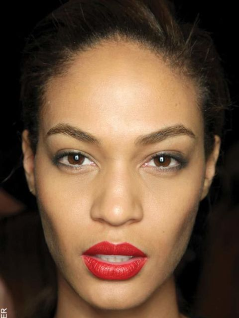 """<p>After a season experimenting with bold rainbow shades lip colour returns to its primary roots this winter with slashes of scarlet making an appearance at shows such as <a href=""""http://www.elleuk.com/catwalk/collections/giles/autumn-winter-2011"""">Giles</"""