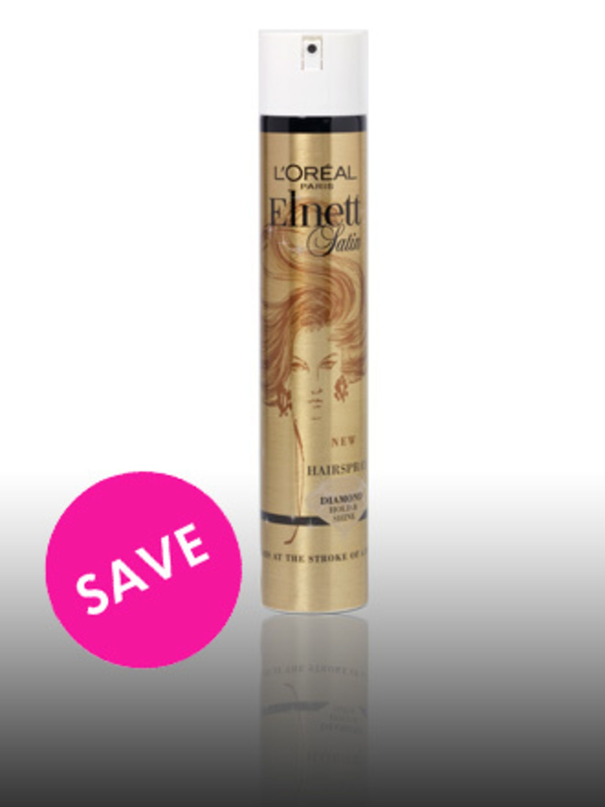 """<p>Hairspray, £5.49 by Elnett at <a href=""""http://www.boots.com/brandtreatment/product_details_brand_treatment.jsp?productid=1005007&classificationid=1040320"""">Boots</a> </p><p>For a purse- friendly purchase that gives hard-to-beat results, pick up some"""