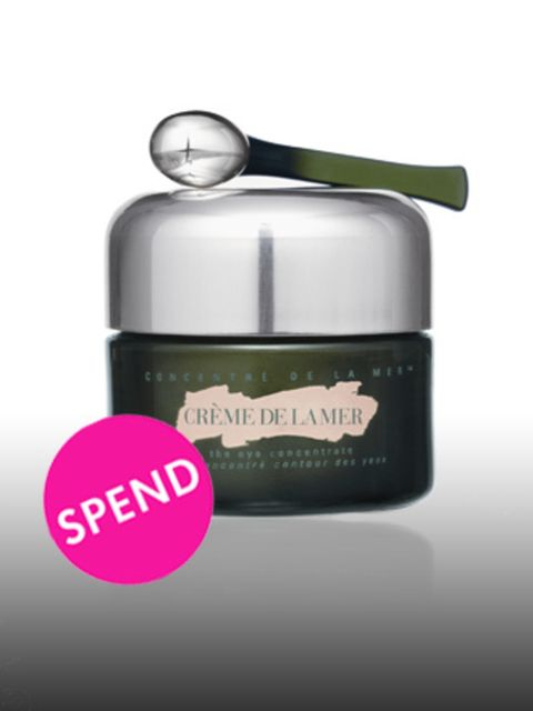 """<p>The Eye Concentrate, £120 by <a href=""""http://www.cremedelamer.co.uk/templates/products/sp_nonshaded.tmpl?CATEGORY_ID=CAT5581&amp;PRODUCT_ID=PROD77496"""">Creme de la Mer</a> </p><p>The skin around your eye is delicate and should be treated with care – in"""