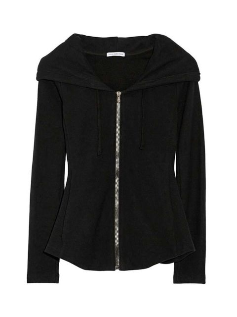 "<p><a href=""http://www.net-a-porter.com/product/501122/James_Perse/cotton-french-terry-hooded-top"" target=""_blank"">James Perse</a>, £265 at Net-a-Porter.</p>"