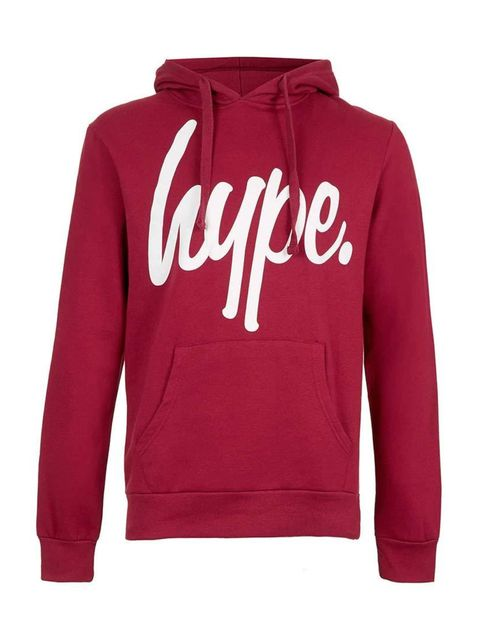 "<p><a href=""http://hypeclothinguk.bigcartel.com/product/hype-script-black-pull-over"" target=""_blank"">Hype</a>, £34.99.</p>"