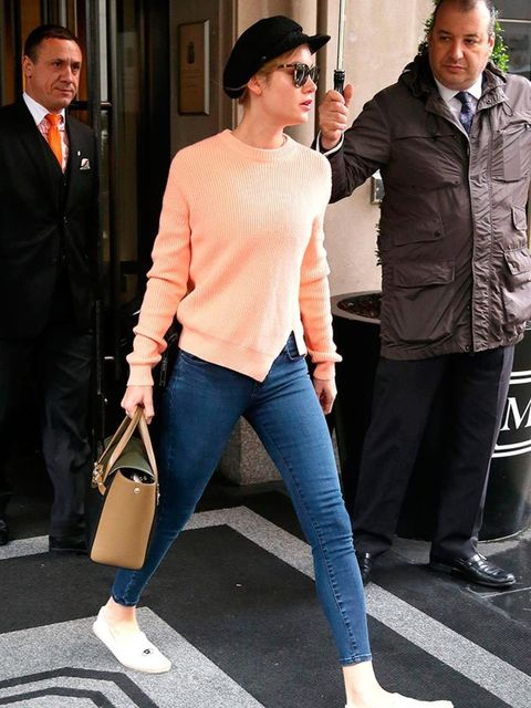 Brie Larson out and about in New York, May 2016.