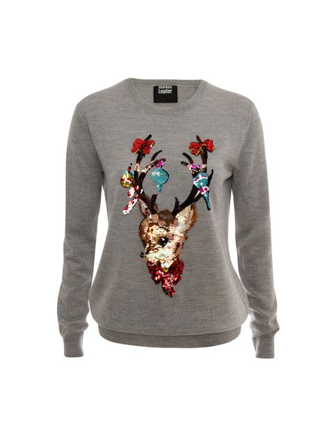 "<p><a href=""http://www.selfridges.com/"" target=""_blank"">Selfridges</a></p>  <p>Markus Lupfer jumper, £275</p>  <p>Order by 22nd December for next day nominated delivery.</p>"