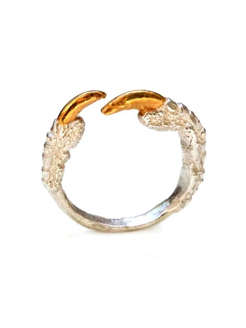 "<p><a href=""https://www.wolfandbadger.com/"" target=""_blank"">Wolf & Badger</a></p>  <p>Tessa Metcalfe ring. £55</p>  <p>The last day that orders can be placed online are Monday 22nd.<br /> Plus get up to £50 off your first order (Spend over £100 and get £2"