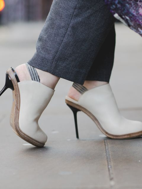 Natasha Pearlman - Deputy Editor.  Margaret Howell trousers, Nicholas Kirkwood shoes.