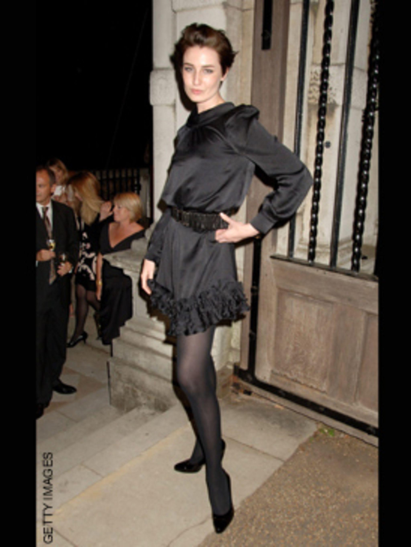 "<p>Erin rocks every girl's party season essential - a <a href=""http://www.elleuk.com/elle/starstyle/celebrity-trends/everyone-s-wearing-little-black-dresses"">Little Black Dress</a></p>"