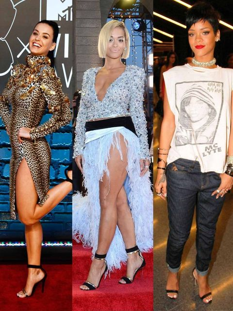 """<p>The VMA's are never a dull affair, are they? This year's biggest talking points were <a href=""""http://www.elleuk.com/elle-tv/cover-stars/elle-magazine/miley-cyrus-elle-behind-the-cover-video"""">Miley Cyrus</a> twerking with Robin Thicke, Taylor Swift 'tha"""