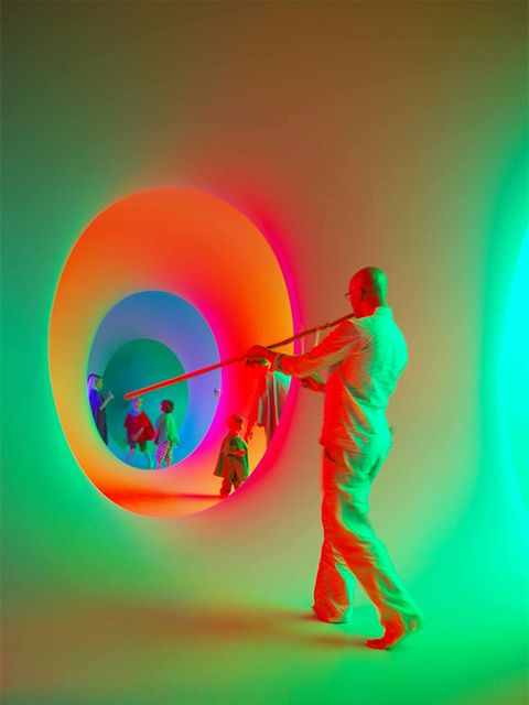 <p><strong>ART: Colourscape </strong></p>  <p>Lose yourself in a labyrinth of colour and light at Colourscape on Clapham Common.</p>  <p>The event is celebrating it's 25th birthday and visitors are invited to put on a coloured cape and become part of the