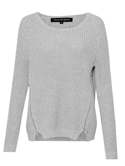 "<p><a href=""http://www.frenchconnection.com/product/Woman+Collections+Knitwear/78CAE/Mozart+Rocks+Zip+Detail+Jumper.htm"">French Connection</a> jumper, £60</p>"