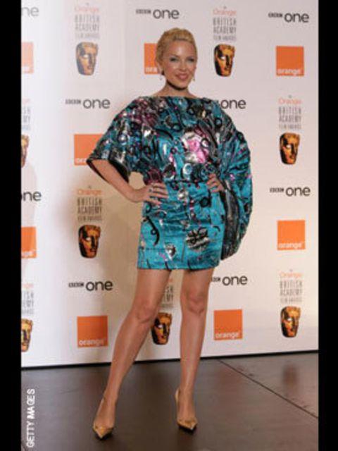 <p>Kylie Minogue in Dolce &amp; Gabanna</p>