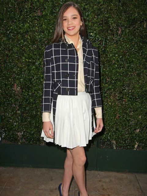 """<p>Hailee Steinfeld in a <a href=""""http://www.elleuk.com/catwalk/collections/tommy-hilfiger/spring-summer-2011"""">Tommy Hilfiger</a> outfit, arriving at the Tommy Hilfiger Pop Up Store in Los Angeles, 09 Jun 2011.</p>"""