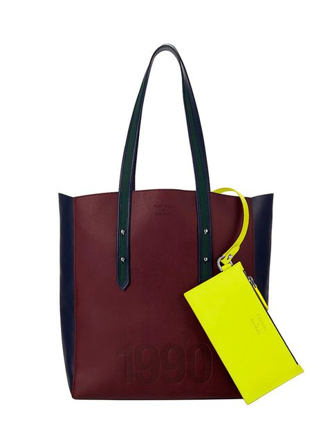 """<p><a href=""""http://www.selfridges.com/GB/en/cat/aspinal-of-london-etre-cecile-essential-leather-tote-bag_528-10005-042173116540000/?previewAttribute=Burgundy"""" target=""""_blank"""">Aspinal Etre Cecile</a> tote, £295</p>"""