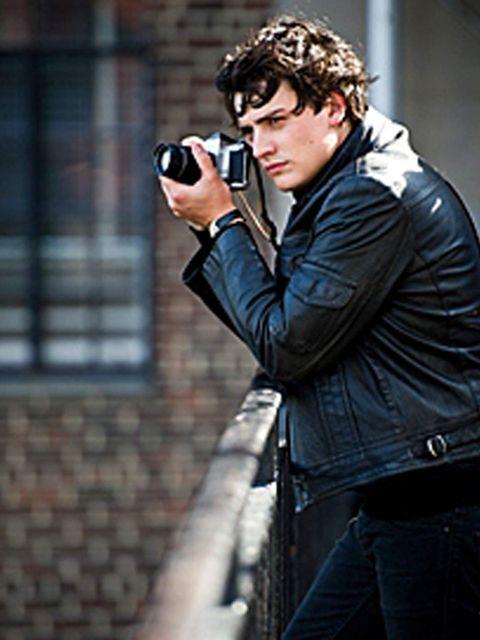 <p>Aneurin Barnard as David Bailey in We'll Take Manhattan.</p>