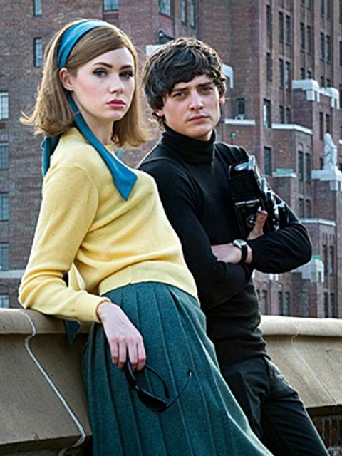 <p>A still of Jean Shrimpton and David Bailey from We'll Take Manhattan.</p>
