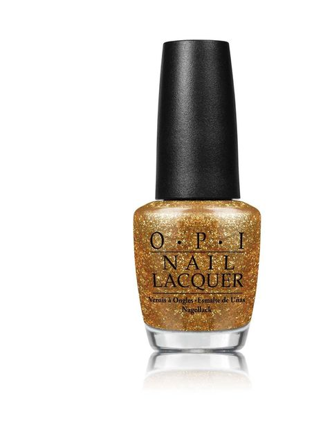 <p>Wear one coat of this vibrant gold over a nude polish for a subtle finish or layer two coats for more impact.</p>