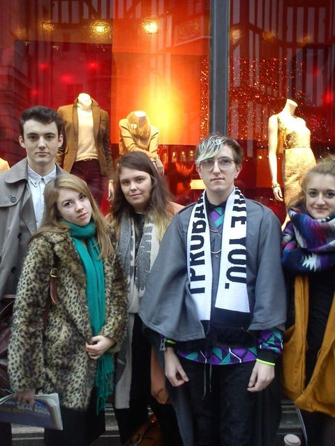 <p>Will, Jess, Elsa, Craig and Hannah all attend all the H&M collaborations </p>