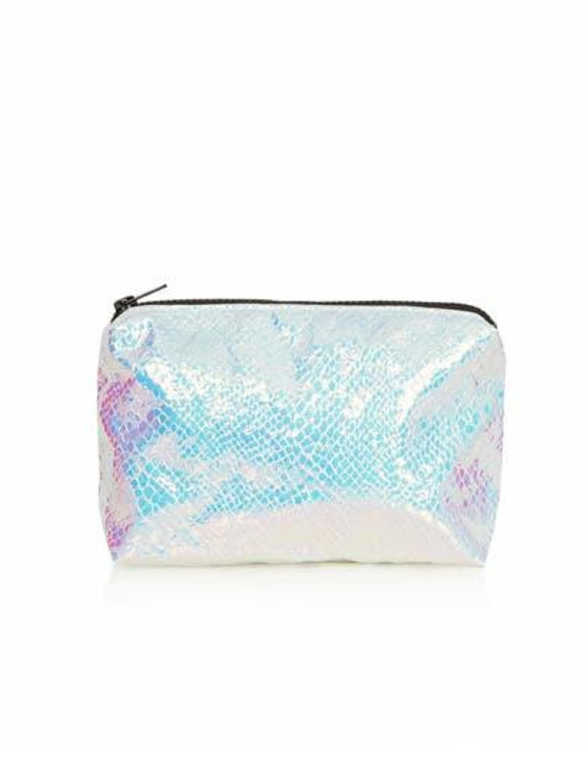 "<p>Everyone needs to put their makeup in something. Treat them to this Mermaid Metallic Makeup Bag from <a href=""http://www.topshop.com/en/tsuk/product/bags-accessories-1702216/bags-purses-462/mermaid-make-up-bag-2564367?bi=1&amp&#x3B;ps=200"">Topshop</a>, only"