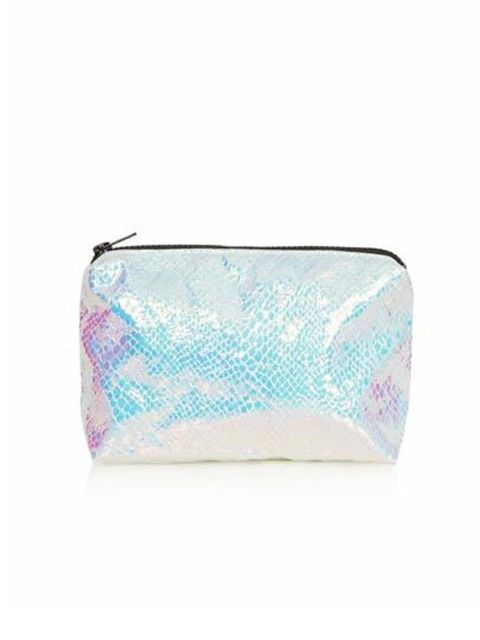 "<p>Everyone needs to put their makeup in something. Treat them to this Mermaid Metallic Makeup Bag from <a href=""http://www.topshop.com/en/tsuk/product/bags-accessories-1702216/bags-purses-462/mermaid-make-up-bag-2564367?bi=1&amp;ps=200"">Topshop</a>, only"