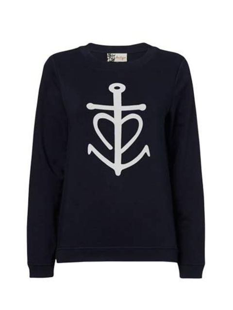 "<p>Tap into the nautical trend with this simple sweatshirt; yacht not included, sadly.</p><p><a href=""http://www.jaeger.co.uk/Anchor%20Sweatshirt/680073H,en_GB,pd.html?dwvar_680073H_color=75000&dwvar_680073H_size=XS&start=7&cgid=new_in_boutique"">Jaeger Bo"