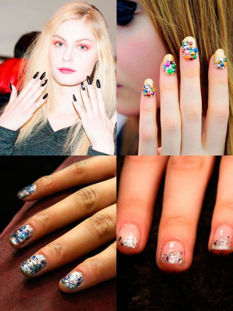 <p>Nails nowadays get just as much attention as hair and make-up backstage, and sometimes take even longer to prepare. The manicures at New York Fashion Week this week have definitely been noteworthy – exciting, intricate and oh so covetable.  Here are ou