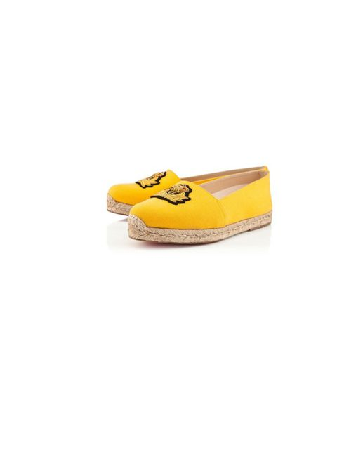 "<p>Add some zest to your look with bang-on trend espadrilles in the summeriest of colours… <a href=""http://www.christianlouboutin.com/"">Christian Louboutin</a> canary yellow espadrilles, £245</p>"