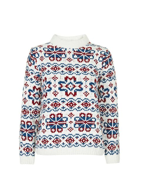 "<p><a href=""http://www.topshop.com/en/tsuk/product/clothing-427/knitwear-444/christmas-jumpers-3669921/fairisle-patterned-jumper-by-boutique-3532435?bi=1&ps=20"" target=""_blank"">Topshop Boutique jumper</a>, £55</p>"